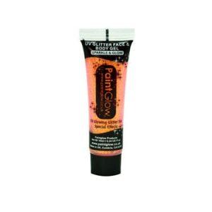 Paintglow UV Face & Body Gel Peach Paradise