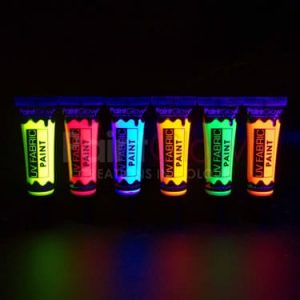 Paintglow UV Fabric Paint Red