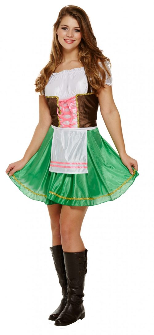 Bavarian Lady Ladies Fancy Dress Costume