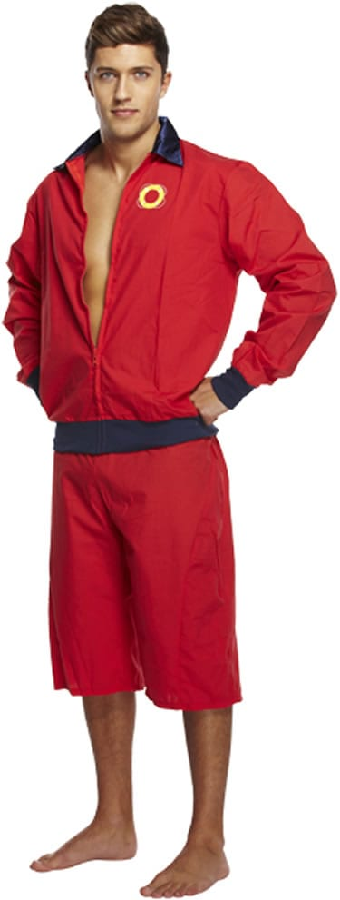 Lifeguard Man (Baywatch) Men's Fancy Dress Costume