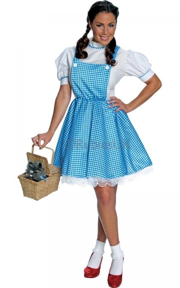 Wizard of Oz Dorothy Ladies Fancy Dress Costume