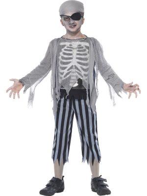 Ghost Ship Boy Children's Halloween Fancy Dress Costume