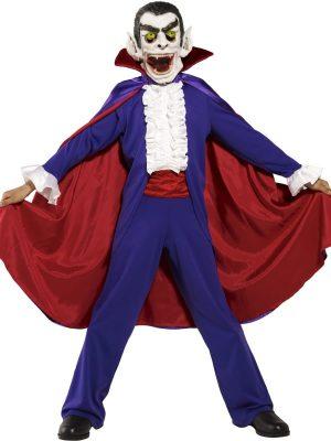 Toon Studio Dracula Children's Halloween Fancy Dress Costume