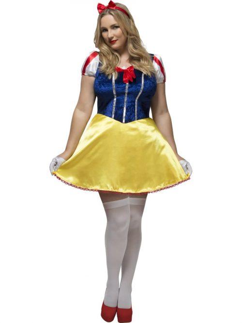 Fever Fairytale Curves Ladies Fancy Dress Costume