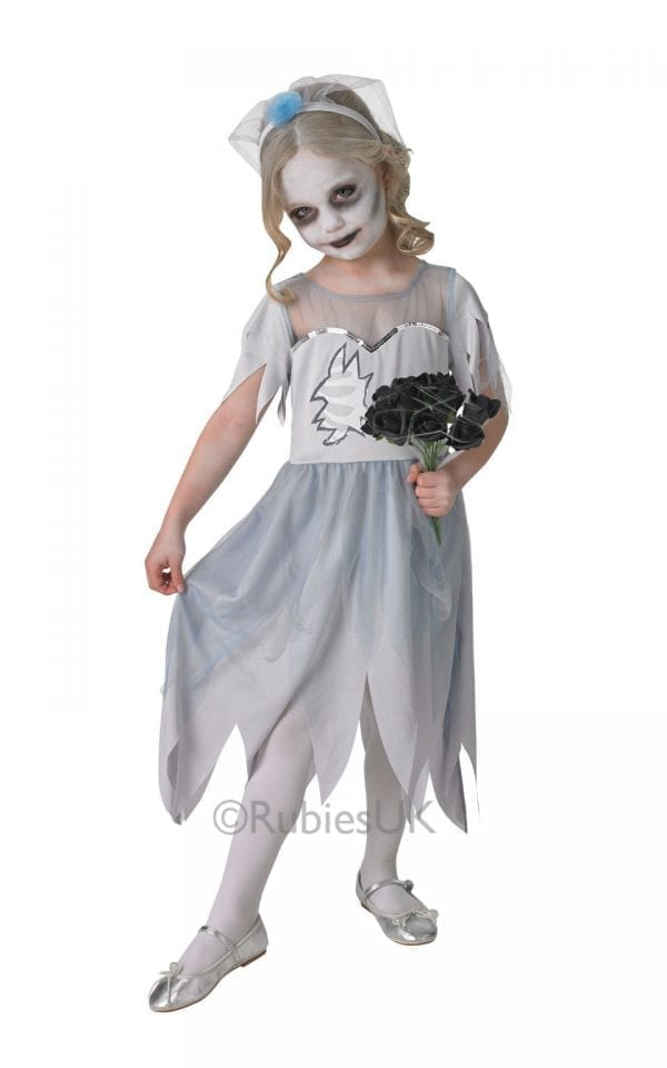 Dearly Departed Bride Children's Halloween Fancy Dress Costume