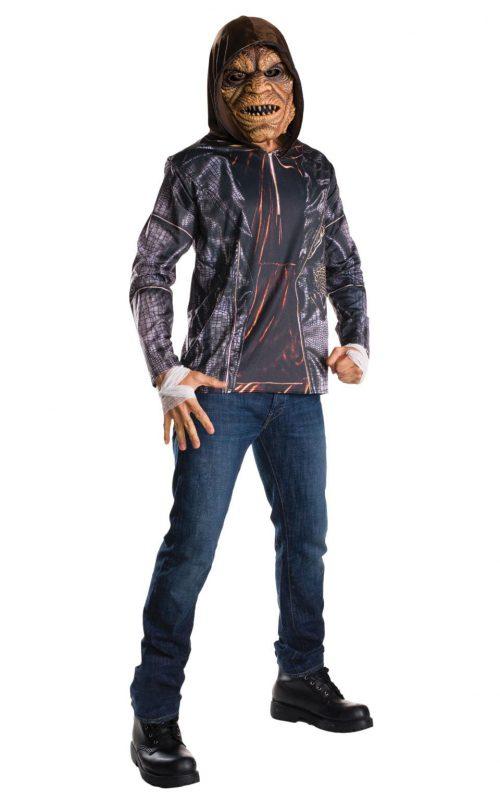 Suicide Squad Killer Croc Kit Men's Fancy Dress Costume