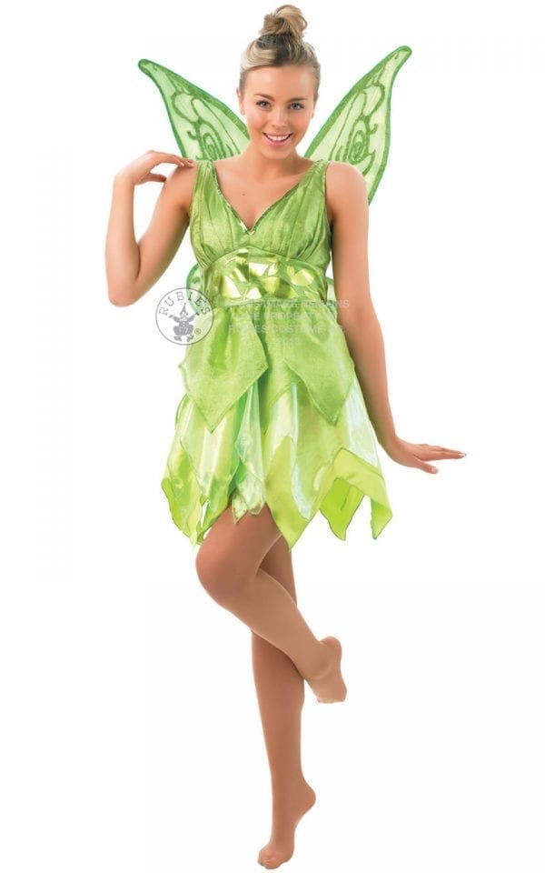 Disney Fairy Tinkerbell Ladies Fancy Dress Costume