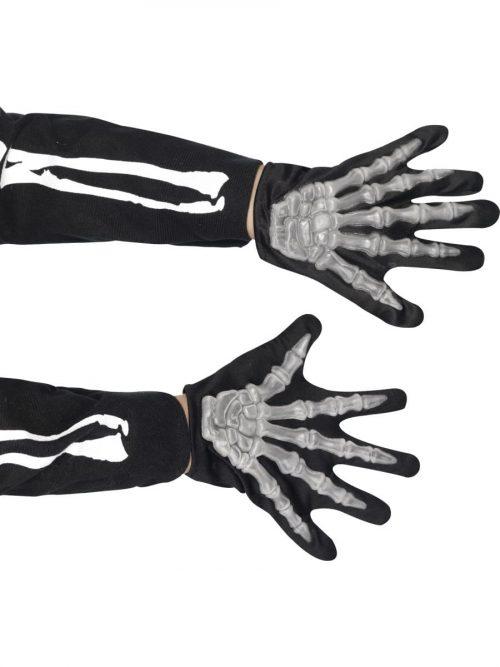 Skeleton Gloves Childs