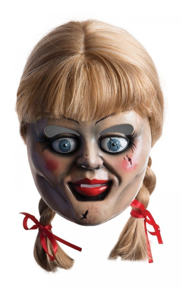 The Conjuring Annabelle Mask & Wig
