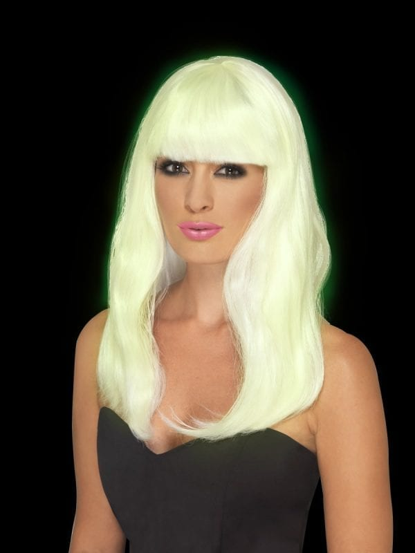 Glam Glo in the Dark Party Wig
