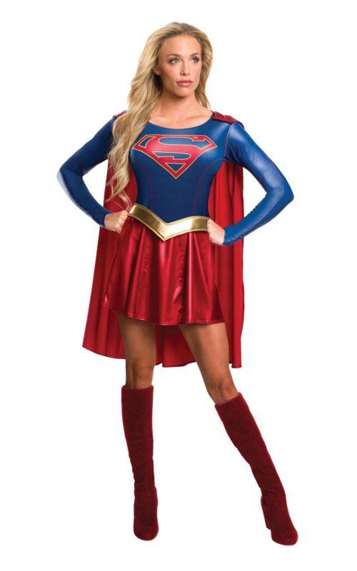 Supergirl (TV Series) Ladies Super Hero Fancy Dress Costume