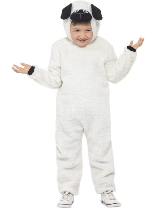 Sheep Children's Christmas Fancy Dress Costume