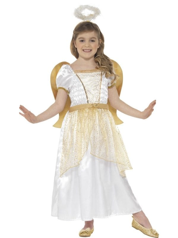 Angel Princess Children's Christmas Fancy Dress Costume