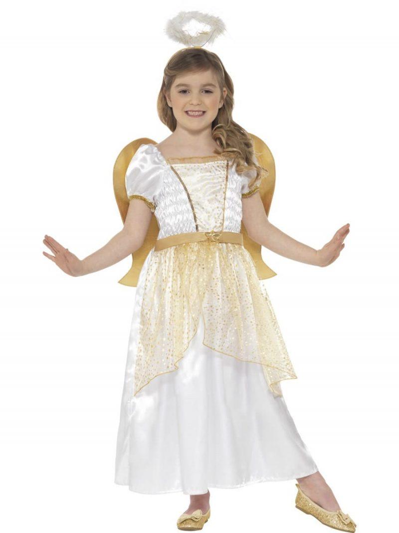 Angel Princess Children's Christmas Fancy Dress Costume