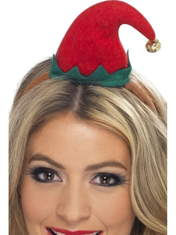 Mini Elf Hat On Headband