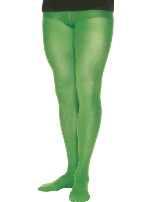 Green Men's Tights