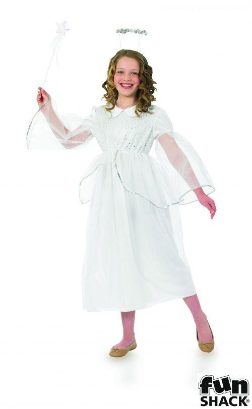 Angelic Angel Children's Christmas Fancy Dress Costume -0