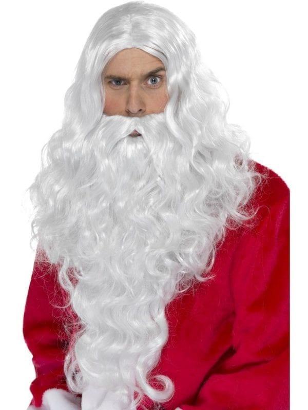 Santa Long Wig & Beard Set