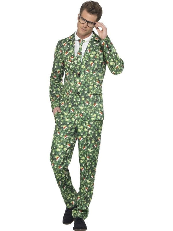 Brussel Sprout Standout Suit Christmas Fancy Dress Costume