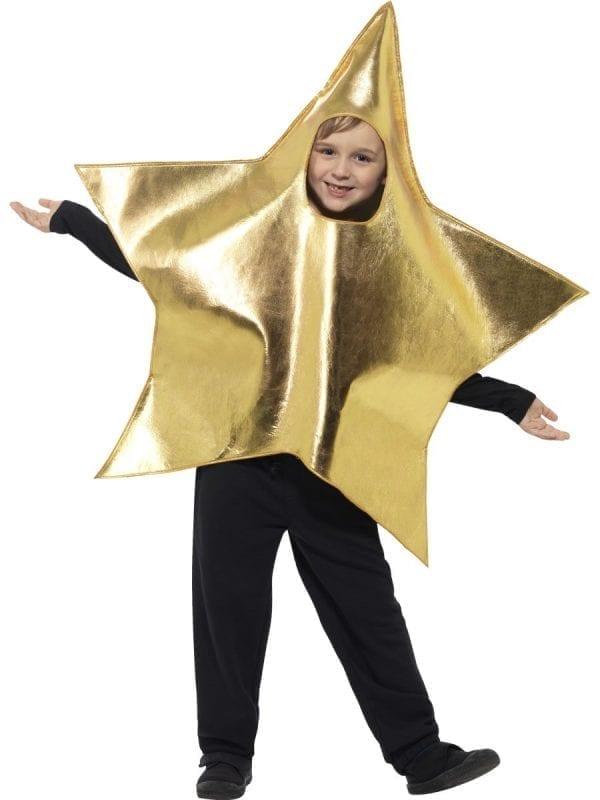 Shining Star Children's Christmas Fancy Dress Costume