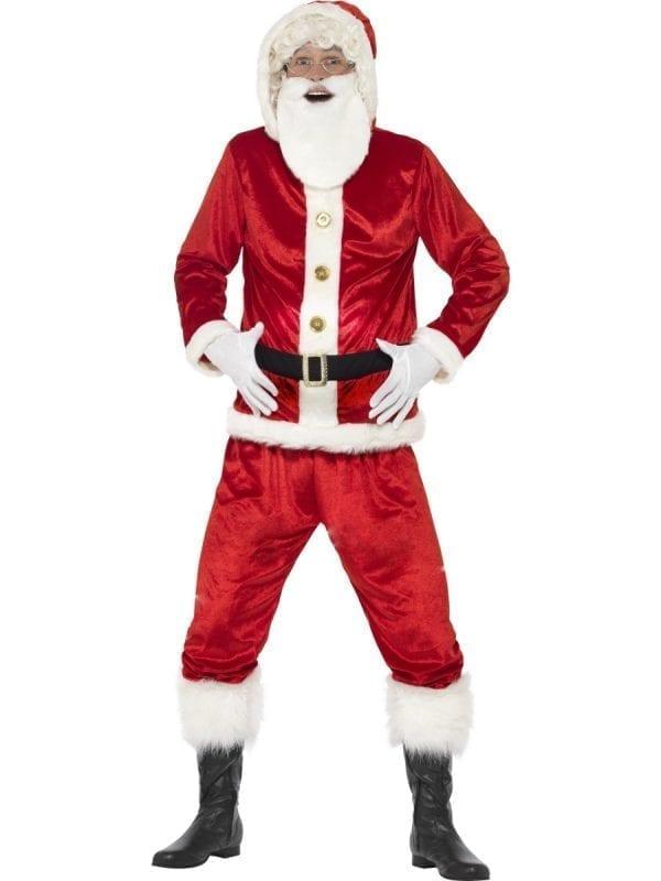 Jolly Santa Men's Christmas Fancy Dress Costume