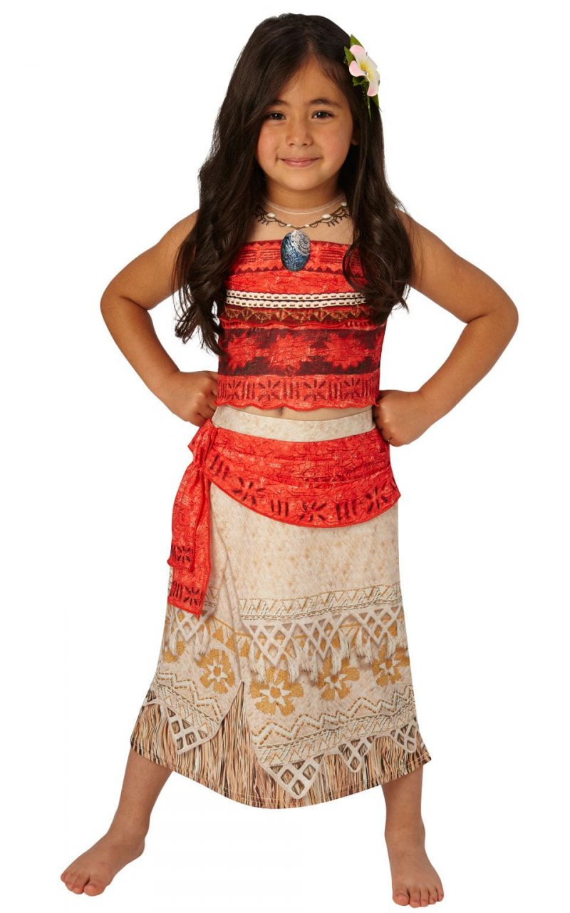 Disney's Moana Deluxe Children's Fancy Dress Costume