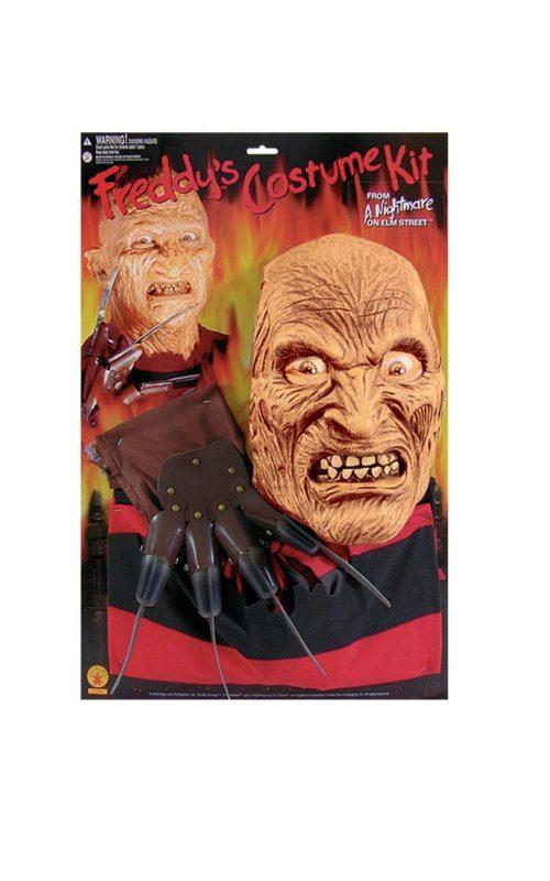 A Nightmare on Elm Street Freddy Krueger Kit Men's Fancy Dress Costume