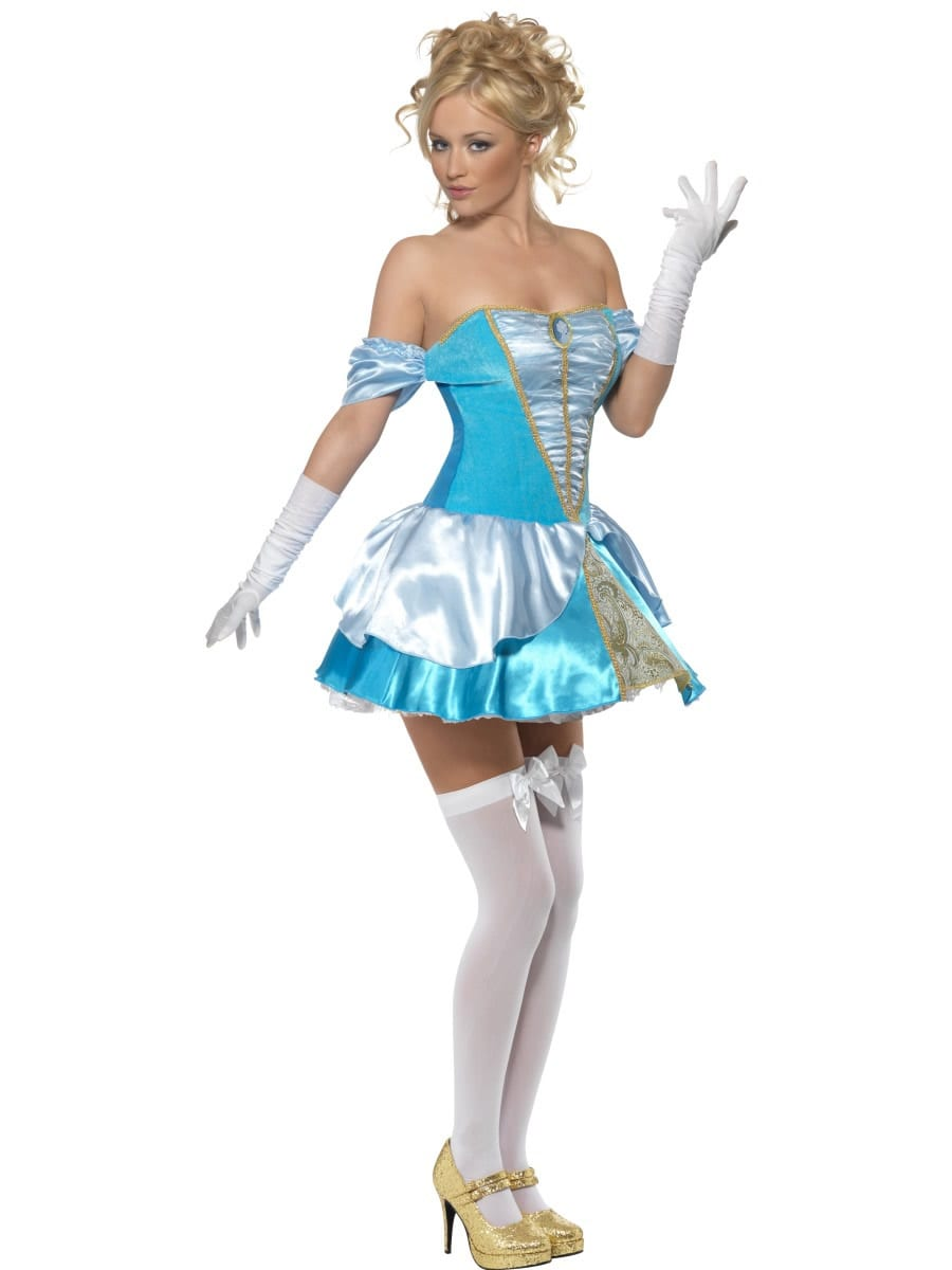 Fever Collection Cinders Ladies Fancy Dress Costume