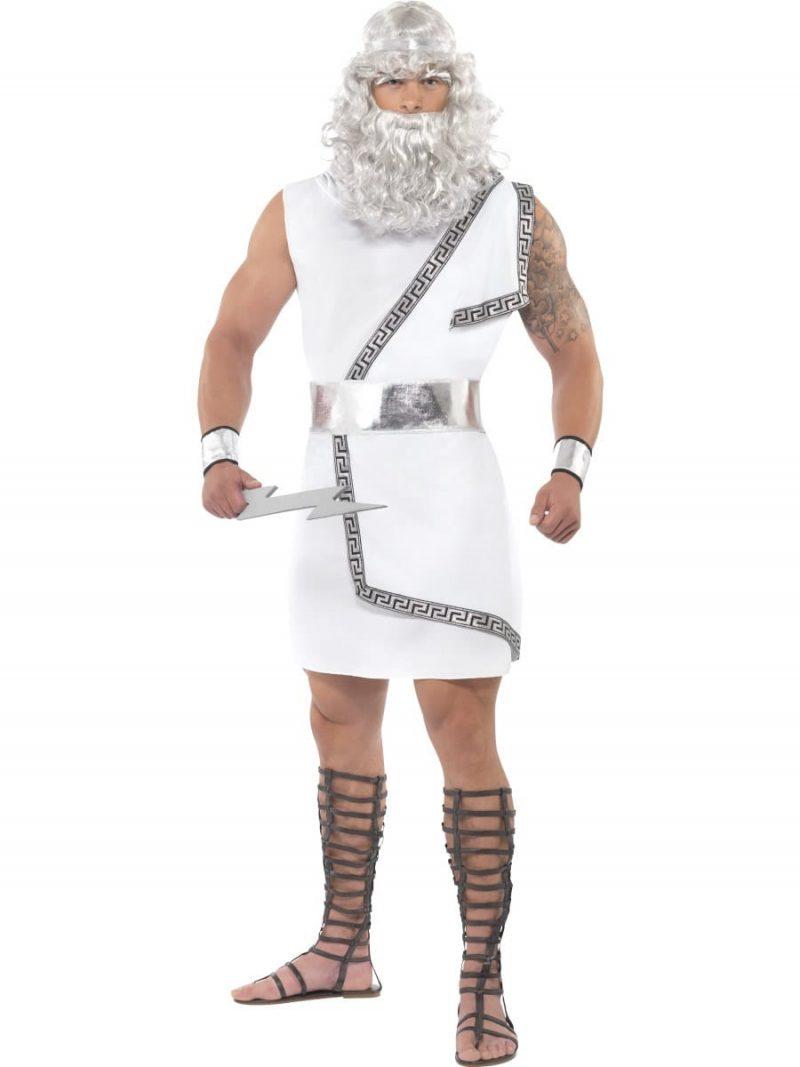 Zeus Men's Fancy Dress Costume