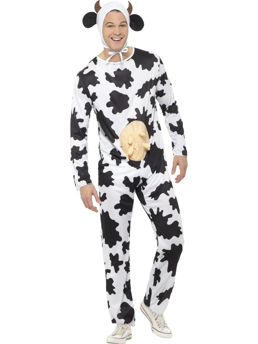 Silly Cow Mens Fancy Dress Costume