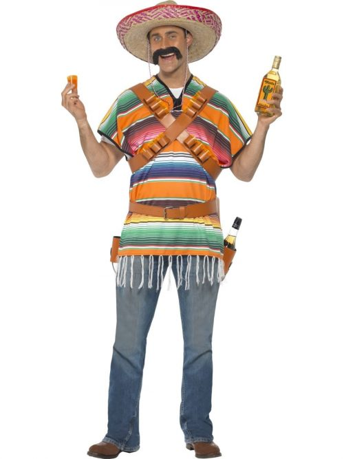 Tequila Shooter Guy Mens Fancy Dress Costume