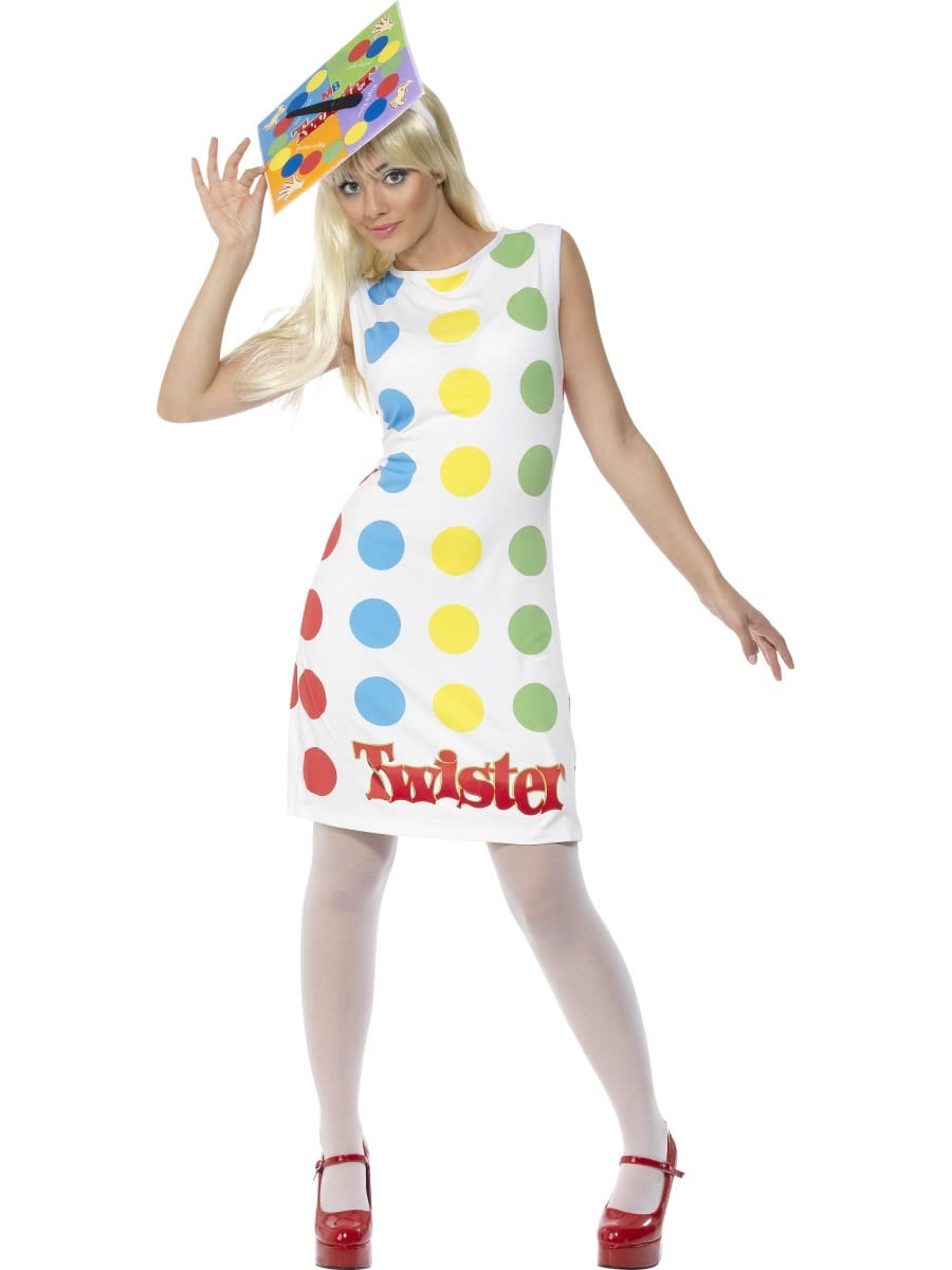 Twister Ladies Fancy Dress Costume