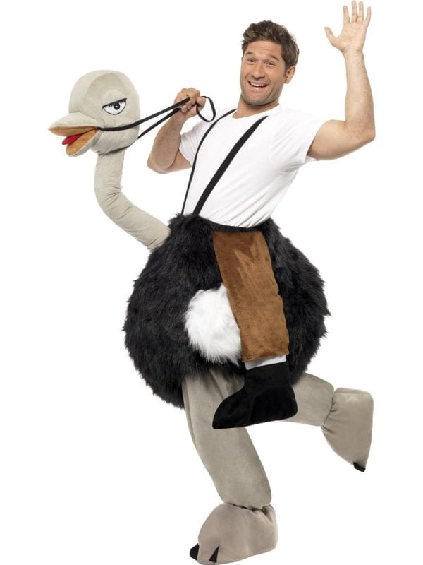 Ostrich Adult Novelty Fancy Dress Costume