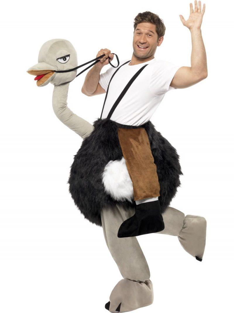 Ostrich Adult Novelty Fancy Dress Costume