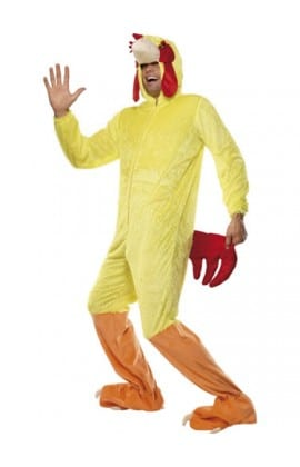 Chicken Unisex Animal Fancy Dress Costume