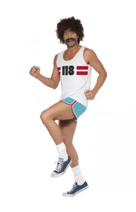 118118 Male Runner Mens Fancy Dress Costume