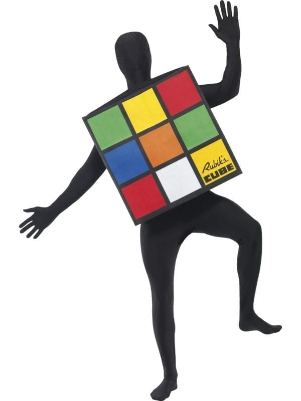 Rubik's Cube Unisex Adult Fancy Dress Costume