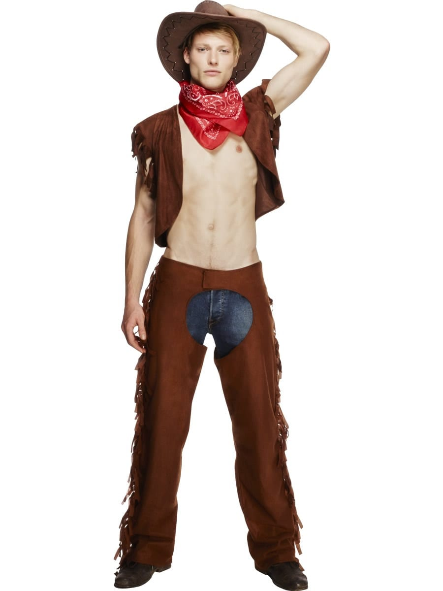 Fever Collection 'Ride Em' High Cowboy Mens Fancy Dress