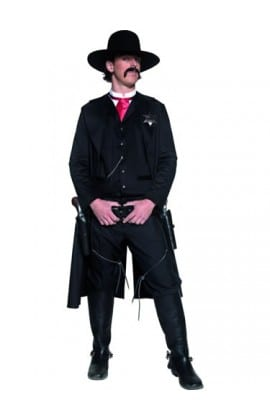Authentic Western Sheriff Mens Fancy Dress Costume