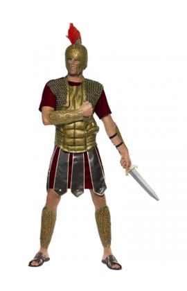 Perseus the Gladiator Men's Fancy Dress Costume
