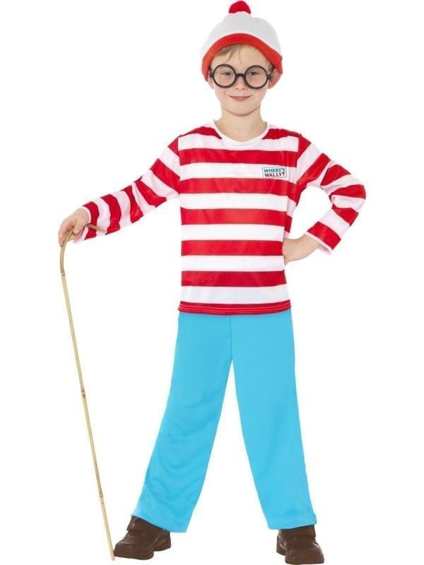 Where's Wally? Wally Boy Children's Fancy Dress Costume