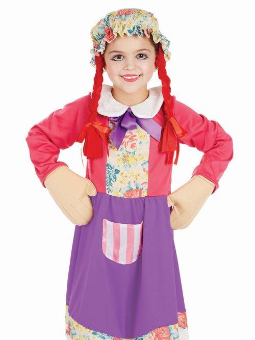 Rag Doll Children's Fancy Dress Costume