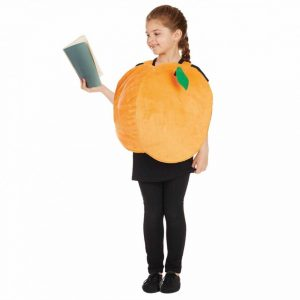 Peach Unisex Children's Fancy Dress Costume