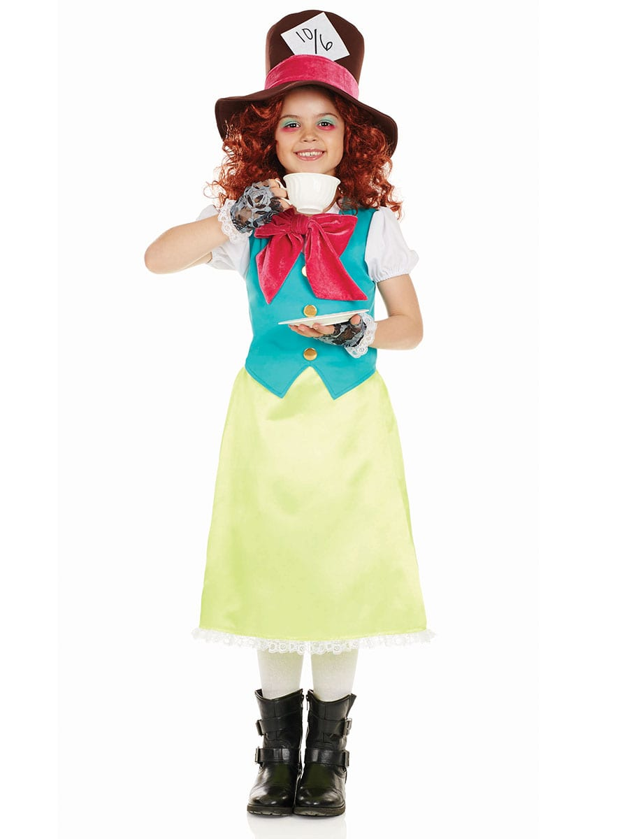 Miss Hatter Children's Fancy Dress Costume
