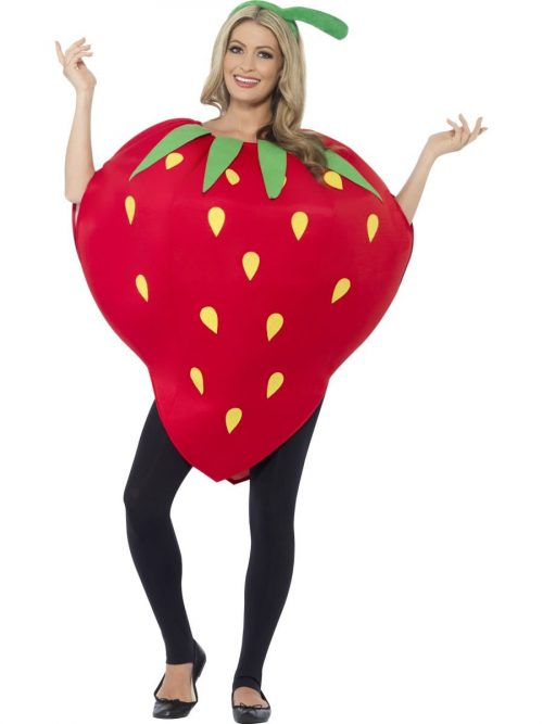 Strawberry Unisex Novelty Fancy Dress Costume