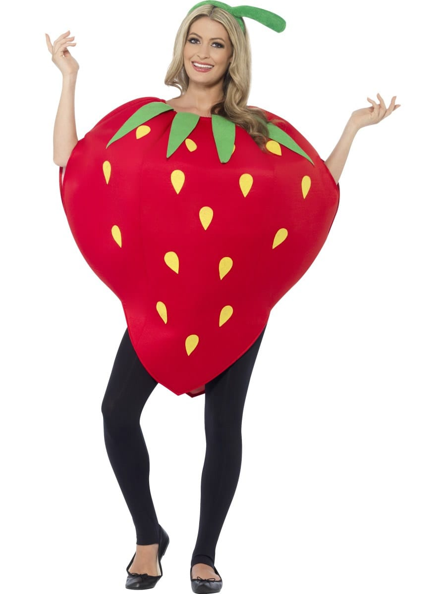 Strawberry Unisex Novelty Fancy Dress Costume