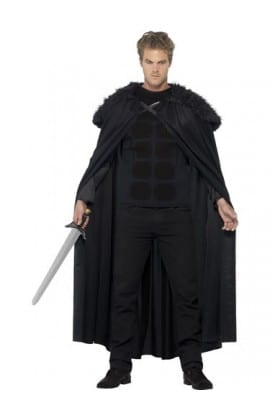 Dark Barbarian Men's Fancy Dress Costume