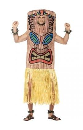 Tiki Totem Pole Men's Fancy Dress Costume