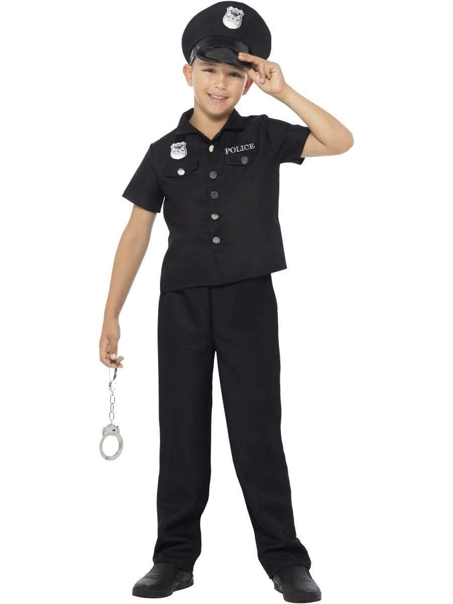 New York Cop Children's Fancy Dress Costume
