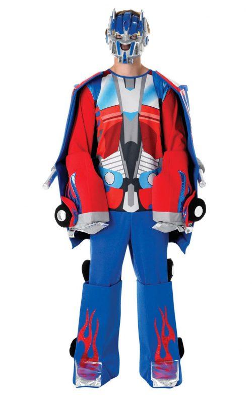 Transformer Transforming Optimus Prime Men's Fancy Dress Costume
